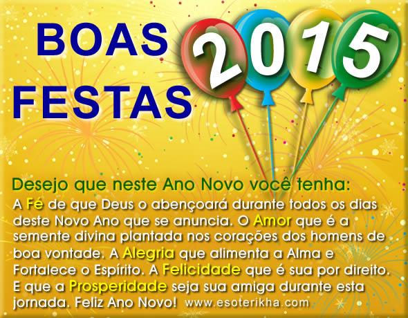Boas Festas 2015
