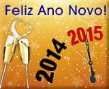 cartão de ano novo 2014