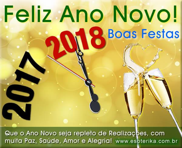 CARTÃO DE ANO NOVO 2018 Grátis