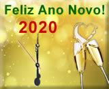 cartão de ano novo 2020