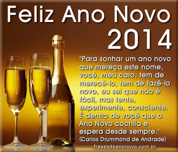 Frases de Ano Novo 2014