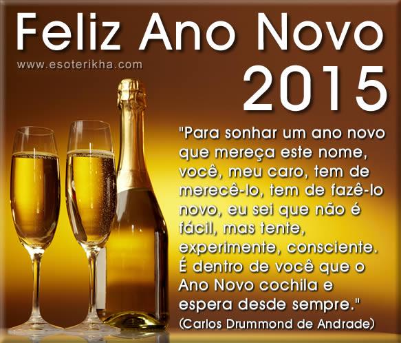 Frases de Ano Novo 2015