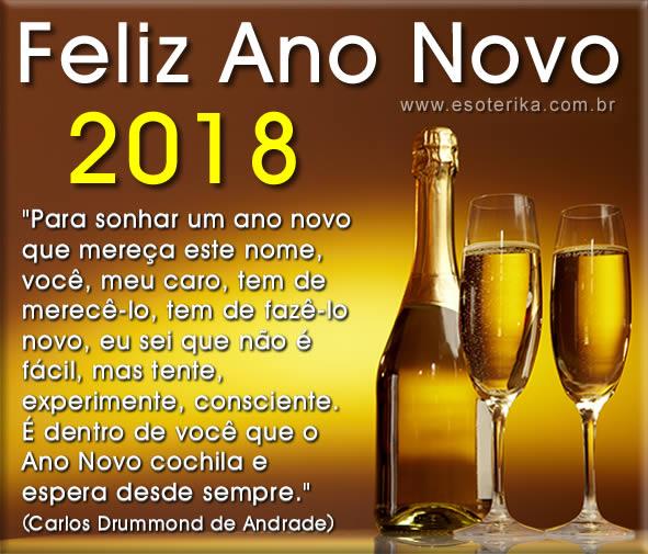 Mensagens de feliz ano novo 2018