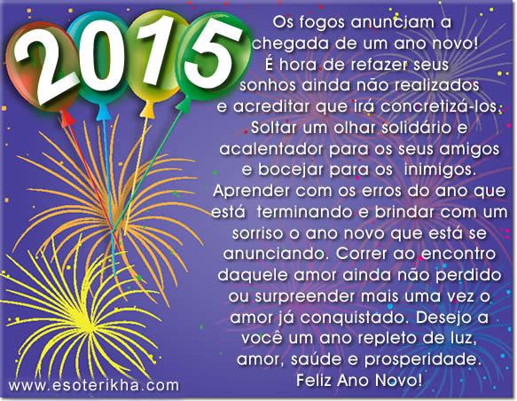 Mensagem De Feliz Ano Novo: Blog Professor Francisco Melo