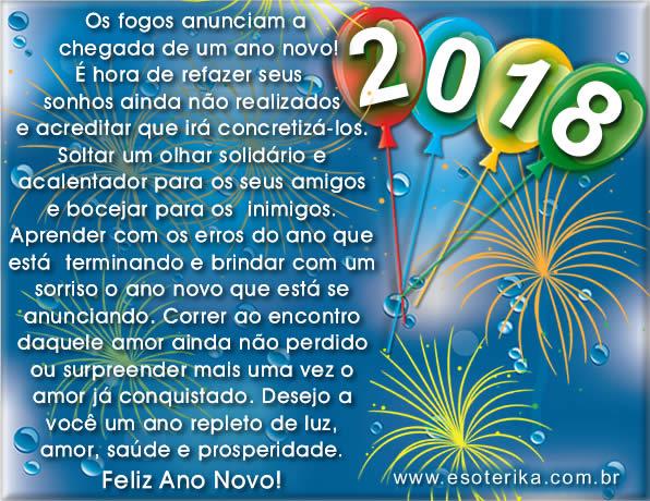 Frases de Feliz Ano Novo 2018