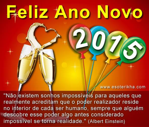 mensagem de ano novo 2015