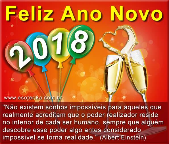 mensagem de ano novo 2018