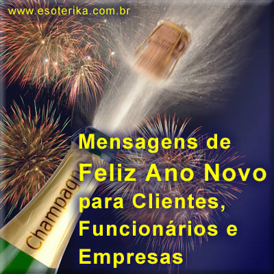 mensagem de ano novo para clientes, empresas e funcionários