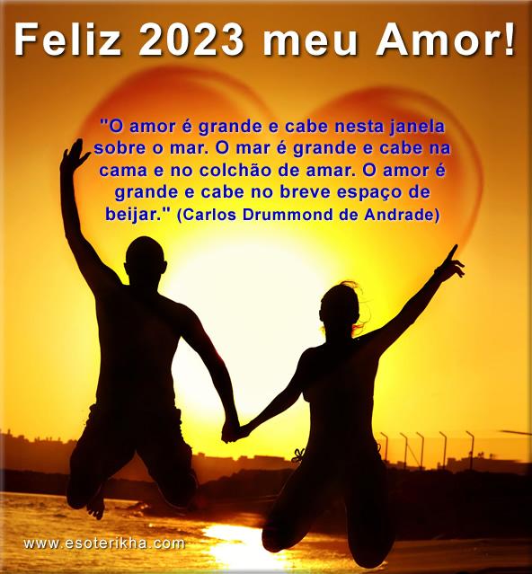 mensagem de feliz ano novo meu amor
