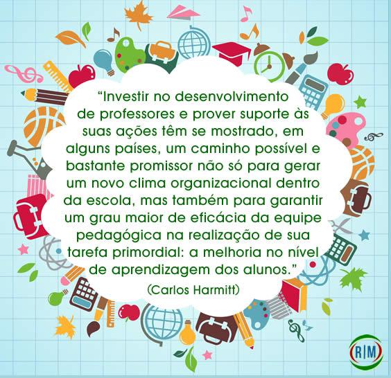 Página pessoal de Carlos Harmitt professor, mestre em educação e administração escolar