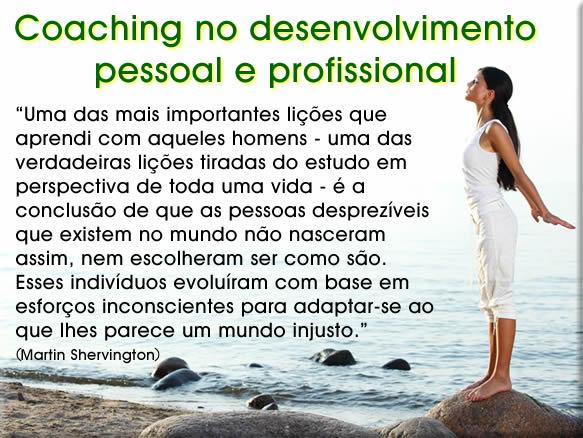 coaching no desenvolvimento pessoal e profissional