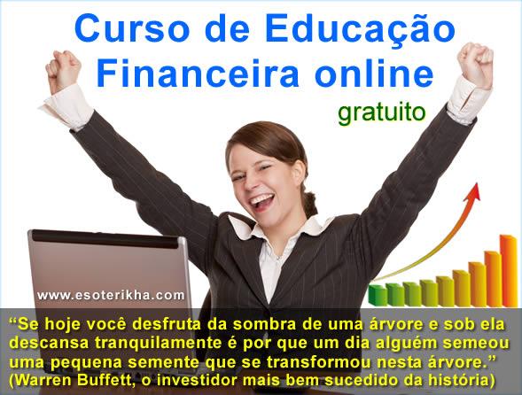 Curso de Educação Financeira Online Grátis