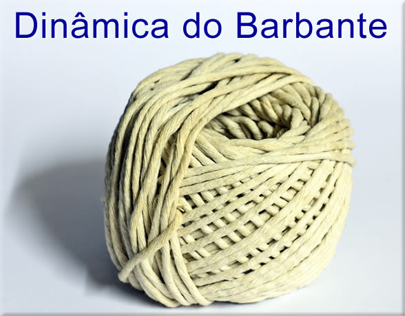 Dinâmica do Barbante - dinamica do rolo de barbante