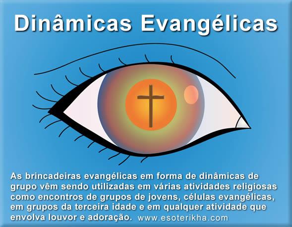 Dinâmicas Evangélicas para Células, Grupos de Jovens e Brincadeiras
