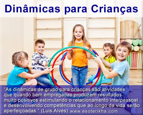 Dinâmicas para Crianças - Atividades para Crianças