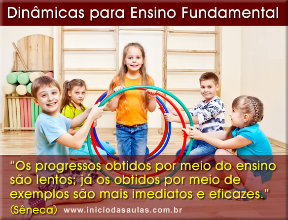 dinamicas para ensino fundamental