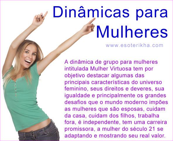 Dinamicas para Mulheres