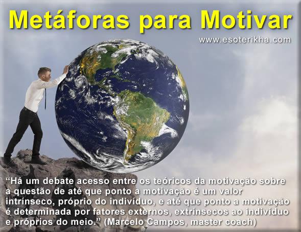 Exemplos de Metáforas para Motivar