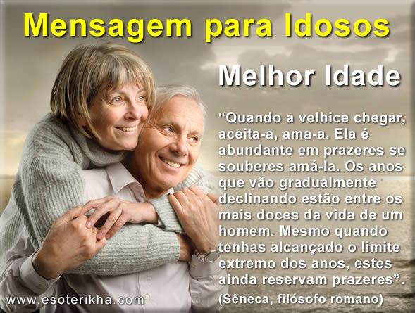 Mensagem para Idosos - 01 de outubro - Dia do Idoso
