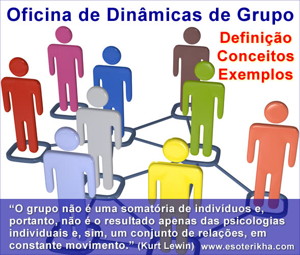 O que é Oficina de Dinâmicas de Grupo - Exemplos de Dinâmicas de Oficina