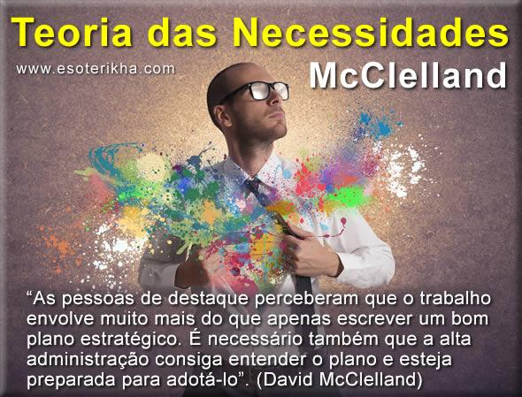 Teoria das Necessidades Adquiridas - Teoria de McClelland
