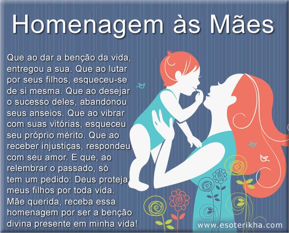 homenagem as mães