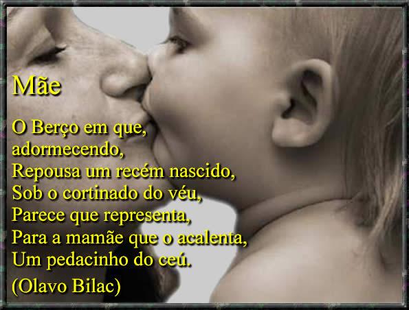 imagem com frases para o dia das mães para facebook