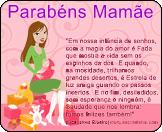 Mensagem de Parabéns para o Dia das Mães