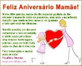 Mensagem para Aniversário de Mãe - O maior dos Presentes