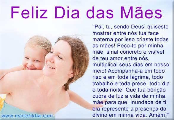 mensagem para facebook dia das mães