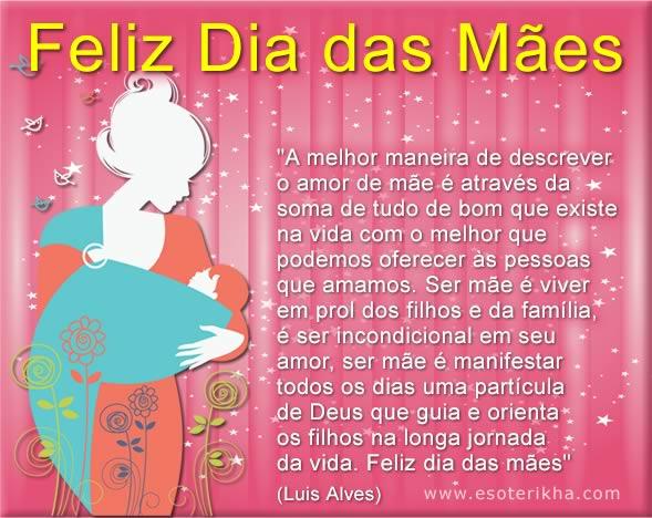 mensagens de feliz dia das mães