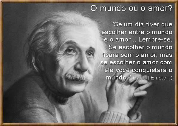 Frases de Amor de Albert Einstein