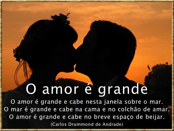 Frases de Amor de Carlos Drummond de Andrade para facebook