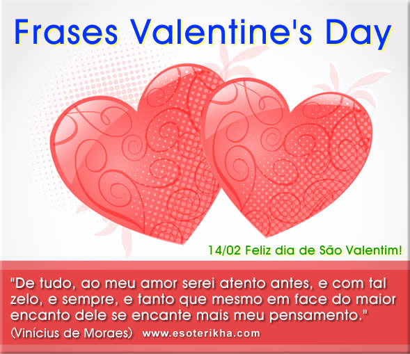 Frases de Valentine's Day