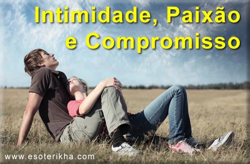 8 subtipos do Amor - Intimidade, Paixão e Compromisso