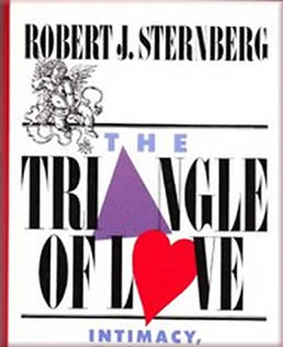 livro teoria triangular do amor de Robert Sternberg