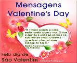 Mensagens de São Valentim - Valentine's Day