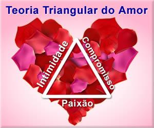 Teoria triangular do amor - Intimidade, Paixão e Compromisso - Robert Sternberg