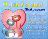 Mensagens Dia dos Namorados - textos de William Shakespeare
