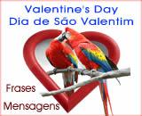mensagens valentines day, mensagens dia de são valentim