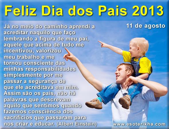 dia dos pais 2013, domingo 11 de agosto