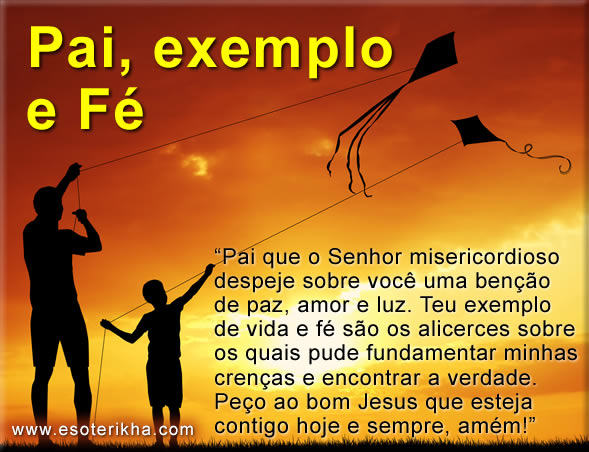 Mensagem para Dia dos Pais Evangélica