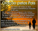 oração para o dia dos pais