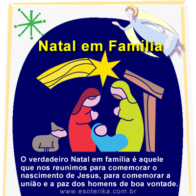 frases de natal para familia