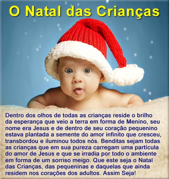Mensagem de Natal para Crianças