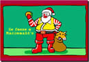 Mensagem com a História do Papai Noel da Coca-Cola