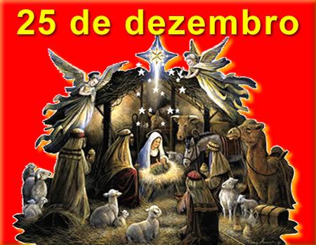 Mensagem para dia 25 de dezembro