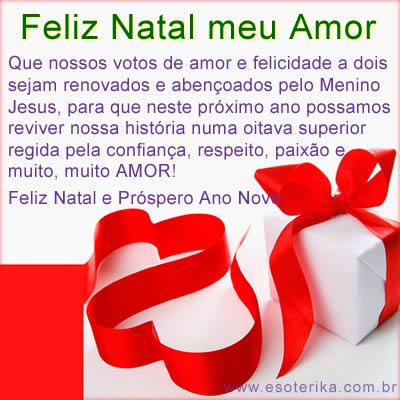 mensagens de amor natal