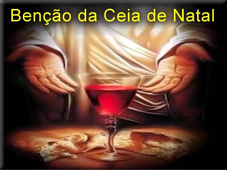 oração para benção da ceia de natal