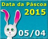 Data da Páscoa 2015